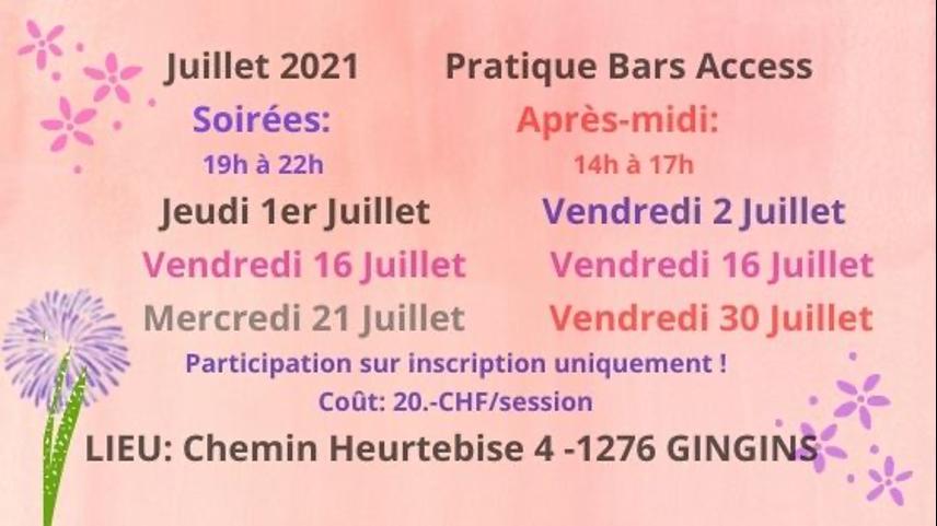 pratique bars access 2