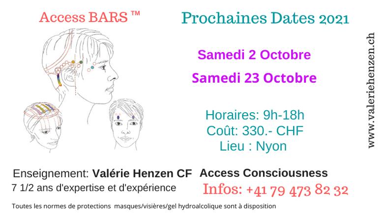 formation nyon access bars octobre 21