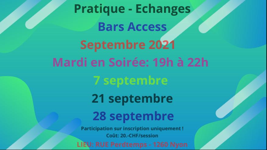bars access septembre 21